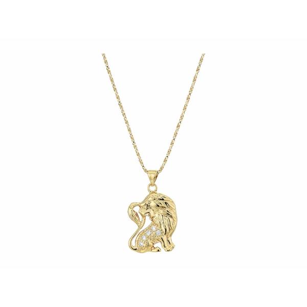 バネッサモーネイ レディース ネックレス・チョーカー・ペンダントトップ アクセサリー The Star Sign Necklaces Gold/Leo