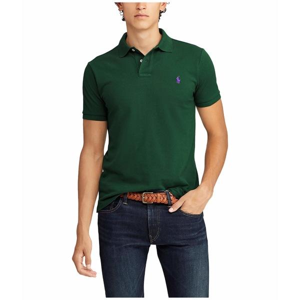 ラルフローレン メンズ シャツ トップス Custom Slim Fit Short Sleeve Pique Polo New Forest