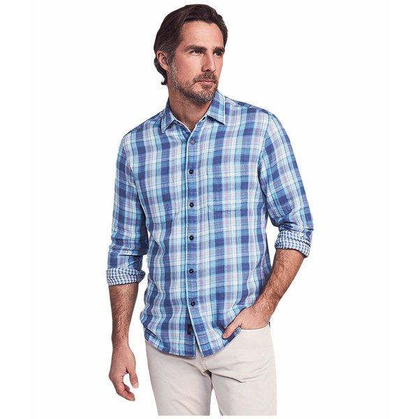 ファエティ メンズ シャツ トップス Reversible Belmar Shirt Catalina Plaid