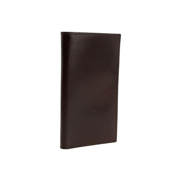 ボスカ メンズ 財布 アクセサリー Old Leather Collection - Coat Pocket Wallet Dark Brown Leather