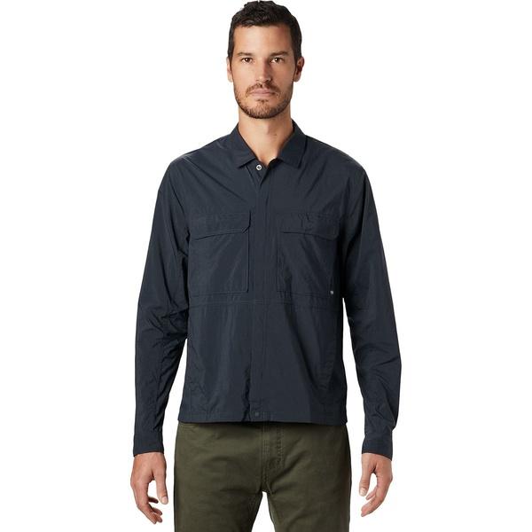 マウンテンハードウェア メンズ ジャケット&ブルゾン アウター Echo Lake Long-Sleeve Shirt - Men's Dark Storm