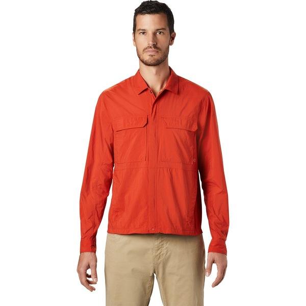 マウンテンハードウェア メンズ ジャケット&ブルゾン アウター Echo Lake Long-Sleeve Shirt - Men's Desert Red