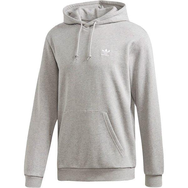 アディダス メンズ ニット&セーター アウター Essential Hoodie - Men's Medium Grey Heather