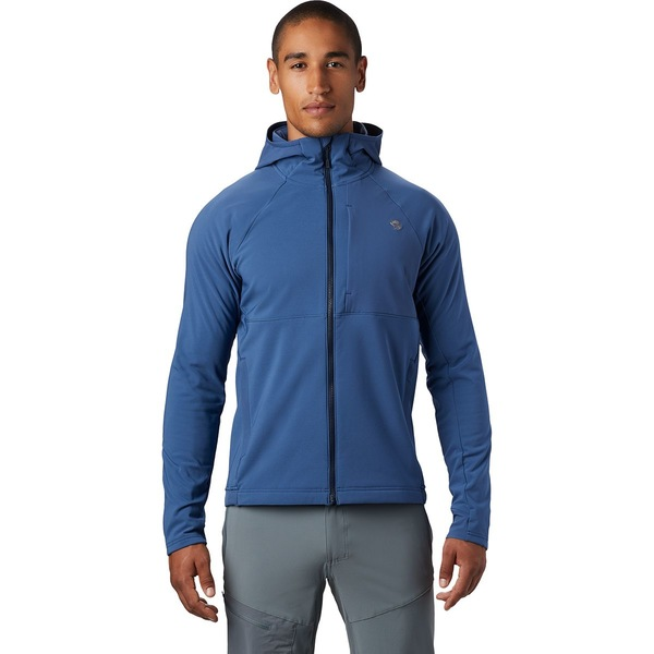マウンテンハードウェア メンズ ジャケット&ブルゾン アウター Keele Hooded Jacket - Men's Better Blue