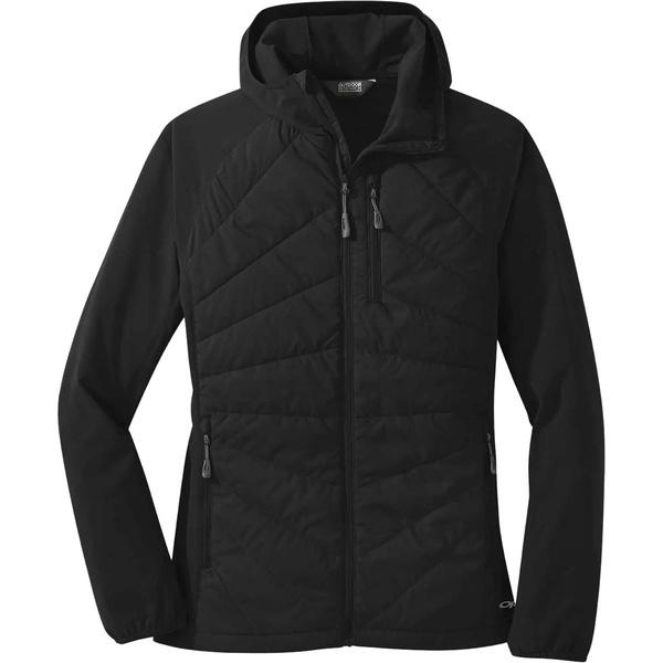 アウトドアリサーチ レディース ジャケット&ブルゾン アウター Refuge Hybrid Hooded Jacket - Women's Black