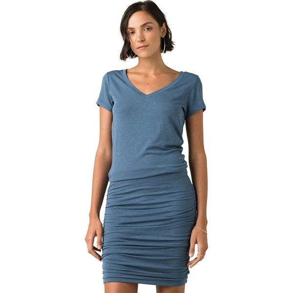 プラーナ レディース ワンピース トップス Foundation Dress - Women's Nickel Heather