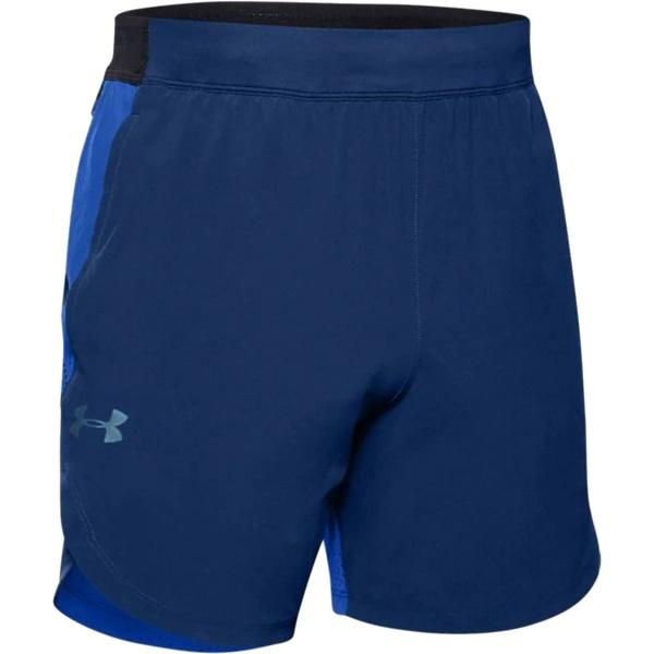 アンダーアーマー メンズ ハーフ&ショーツ ボトムス Stretch Woven Short - Men's American Blue/Versa Blue/Metallic Solder
