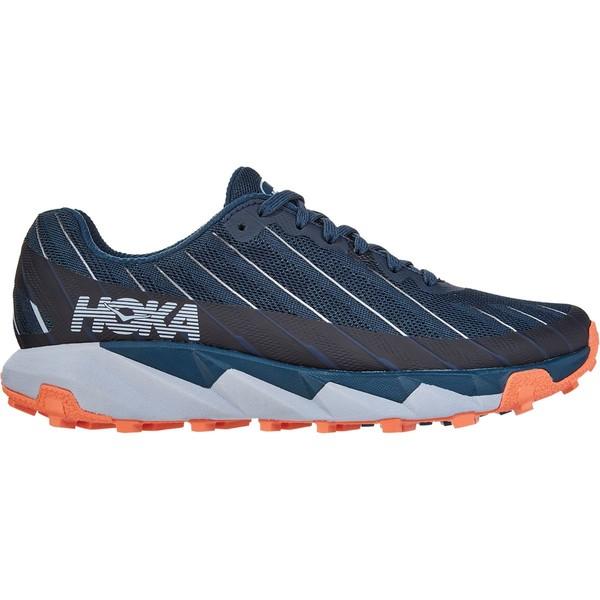 ホッカオネオネ レディース ランニング スポーツ Torrent Trail Run Shoe - Women's Majolica Blue/Fusion Coral