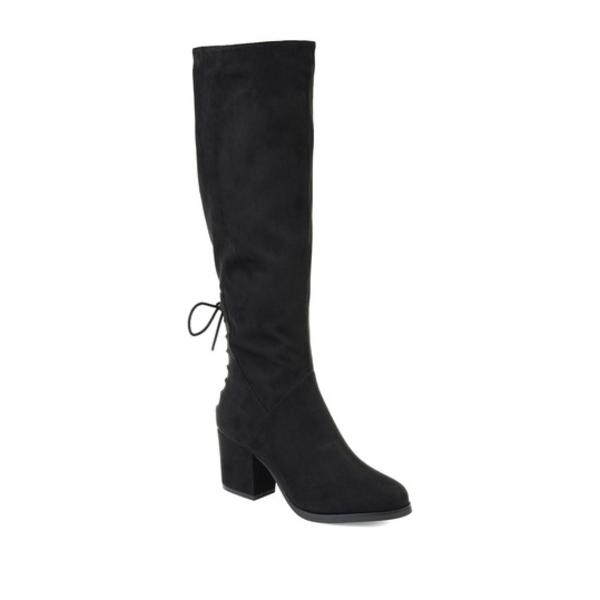 ジャーニーコレクション レディース ブーツ&レインブーツ シューズ Leeda Wide Calf Boot BLACK
