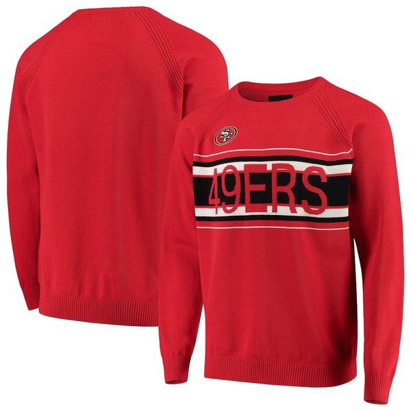 カールバンクス メンズ シャツ トップス San Francisco 49ers G-III Sports by Carl Banks Team Sweater Scarlet