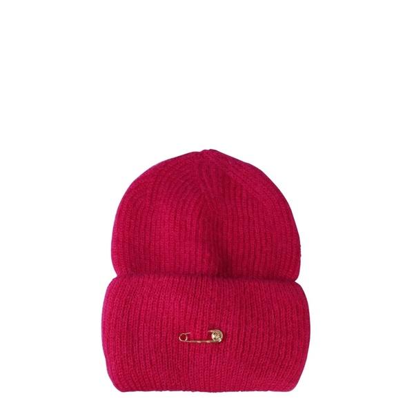 ヴェルサーチ レディース 帽子 アクセサリー Versace Knitted Hat ROSA
