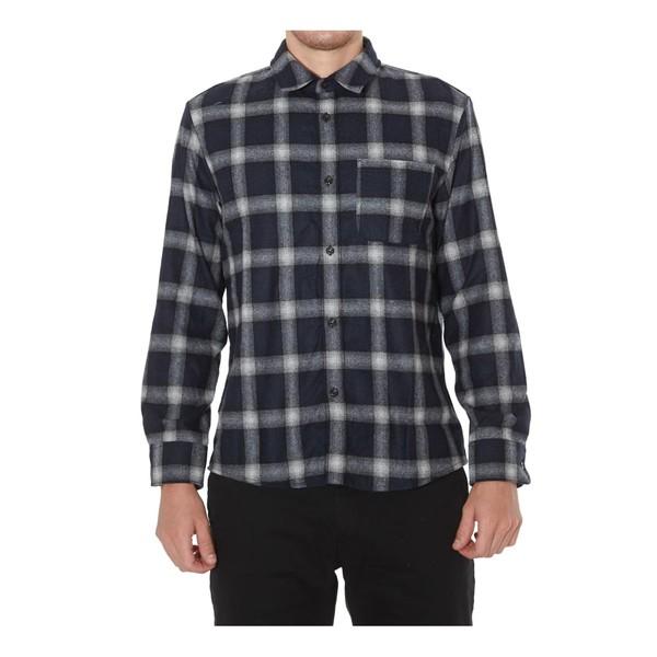 アーペーセー メンズ シャツ トップス A.p.c. Trek Shirt Navy