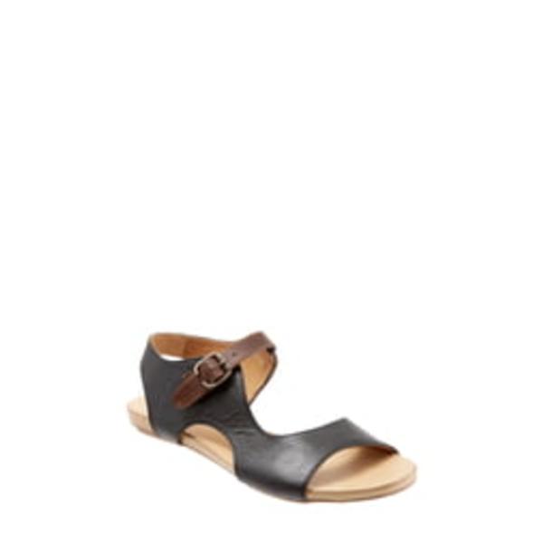 ブエノ レディース サンダル シューズ Kina Sandal Black Leather