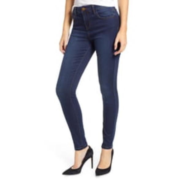 プロスペリティデニム レディース デニムパンツ ボトムス High Waist Skinny Jeans Dark