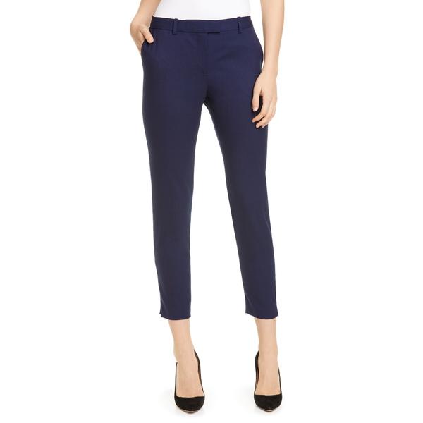 アルチュザラ レディース カジュアルパンツ ボトムス Henri Skinny Stretch Wool Pants 000406 Berry Blue