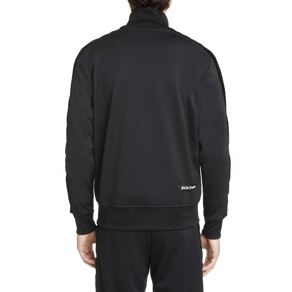 パーム・エンジェルス メンズ ジャケット ブルゾン アウター PxP Track Jacket Black WhiteT1JlFKc3