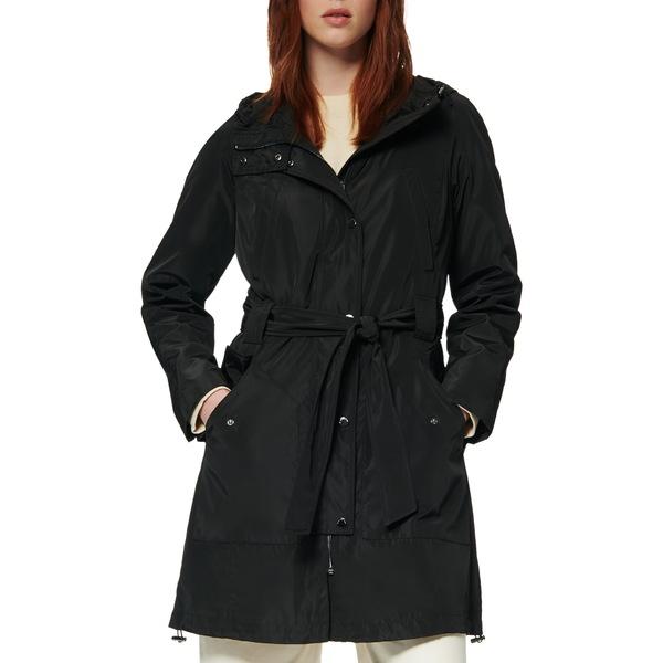 マークニューヨーク レディース コート アウター Cove Raincoat Black