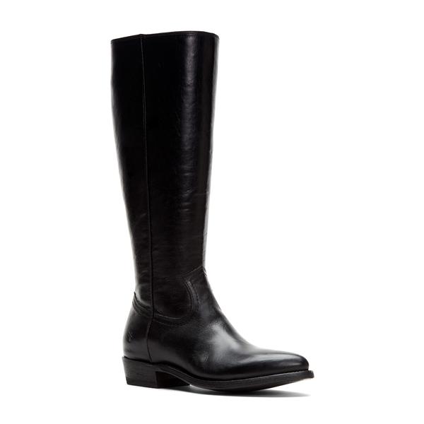 フライ レディース ブーツ&レインブーツ シューズ Billy Knee High Boot Black Leather