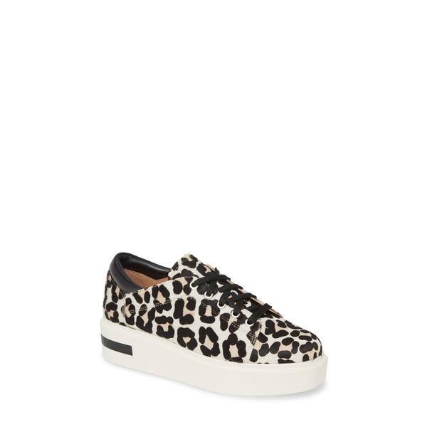 リネアパウロ レディース スニーカー シューズ Kendra Platform Sneaker White/ Black/ Nude Calf Hair