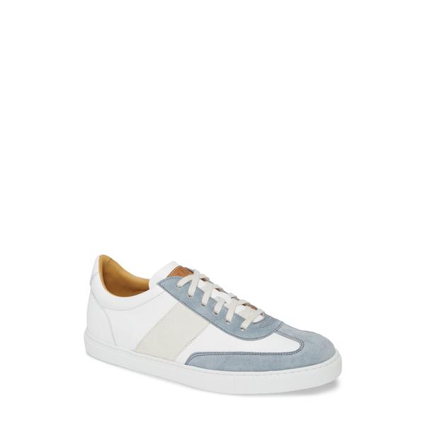メズラン メンズ スニーカー シューズ Wyatt Sneaker Grey/ White