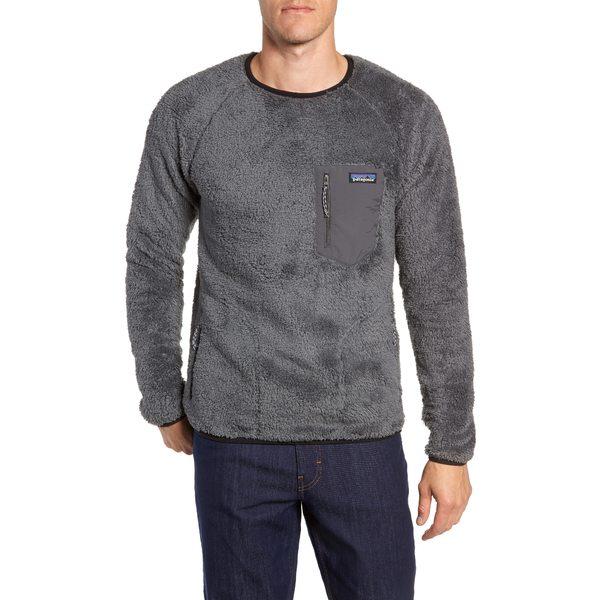 パタゴニア メンズ シャツ トップス Los Gatos Fleece Crewneck Sweatshirt Forge Grey