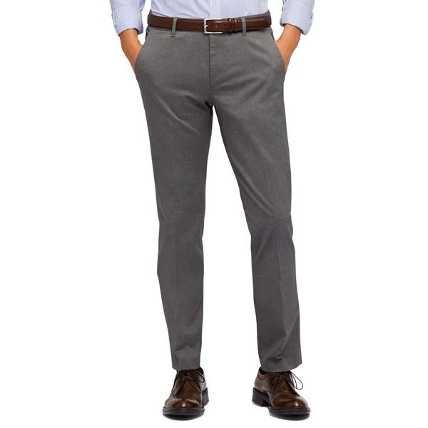 ボノボス メンズ カジュアルパンツ ボトムス Weekday Warrior Tailored Fit Stretch Pants Friday Grey Yd