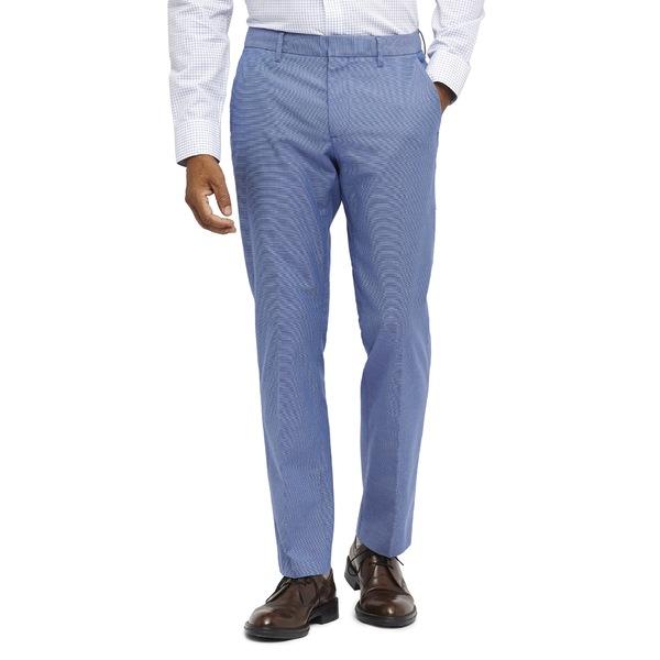 ボノボス メンズ カジュアルパンツ ボトムス Weekday Warrior Tailored Fit Stretch Pants Blue Planet White