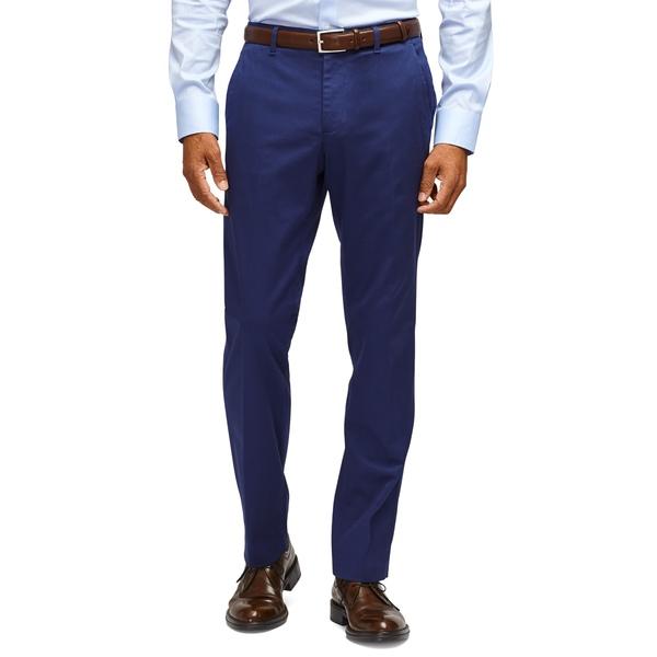 ボノボス メンズ カジュアルパンツ ボトムス Weekday Warrior Tailored Fit Stretch Pants Monday Blue/ Grey Yarn Dye