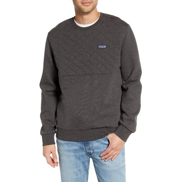 パタゴニア メンズ シャツ トップス Quilted Sweatshirt Forge Grey