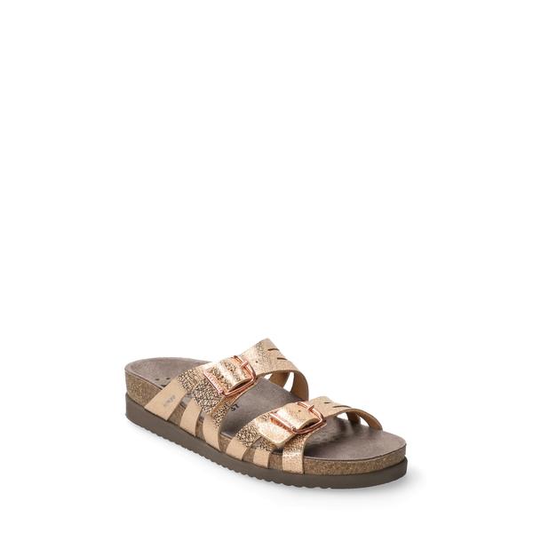 メフィスト レディース サンダル シューズ Helisa Slide Sandal Copper Metallic Leather