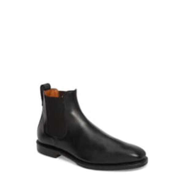 アレン エドモンズ メンズ ブーツ&レインブーツ シューズ Liverpool Chelsea Boot Black Leather