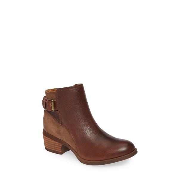 コンフォーティバ レディース ブーツ&レインブーツ シューズ Creston Bootie Bridle Brown Leather/ Suede