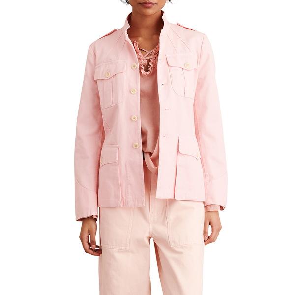 アレックスミル レディース ジャケット&ブルゾン アウター Officer Cotton Jacket Pink