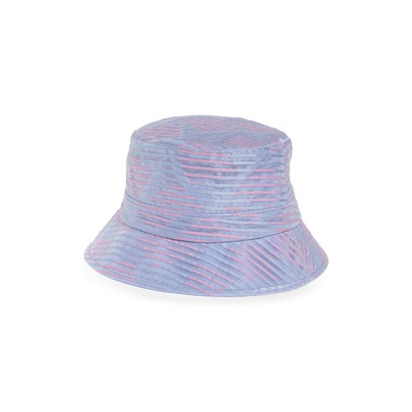 ユージニアキム レディース ヘアアクセサリー アクセサリー Beckett Stripe Organza Bucket Hat Blue/ Lilac