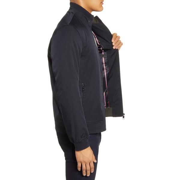 テッドベーカー メンズ ジャケット ブルゾン アウター Yeppers Slim Fit Bomber Jacket NavyWxBeroCd
