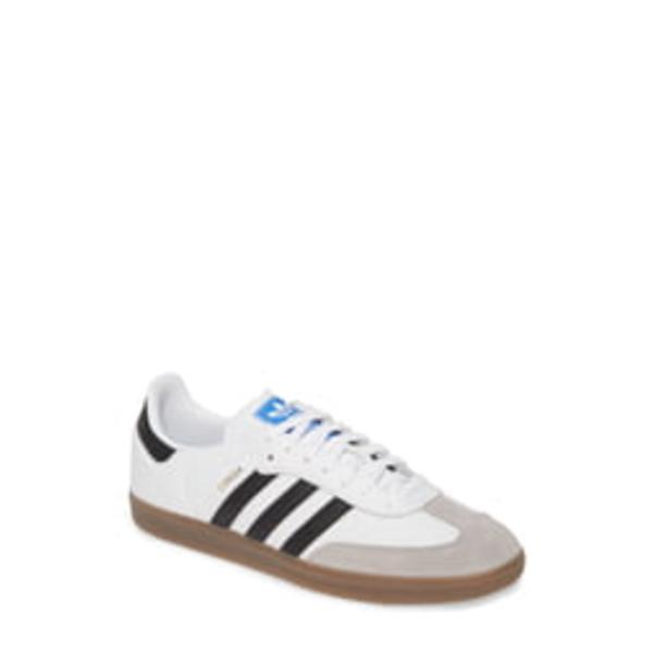 アディダス メンズ スニーカー シューズ Samba OG Sneaker White/ Black