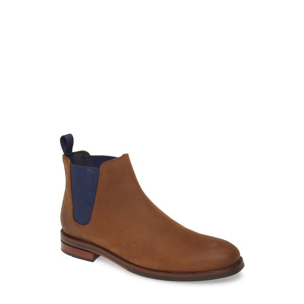 コールハーン メンズ ブーツ&レインブーツ シューズ Wakefield Grand Waterproof Chelsea Boot Dogwood/ Peacoat Leather
