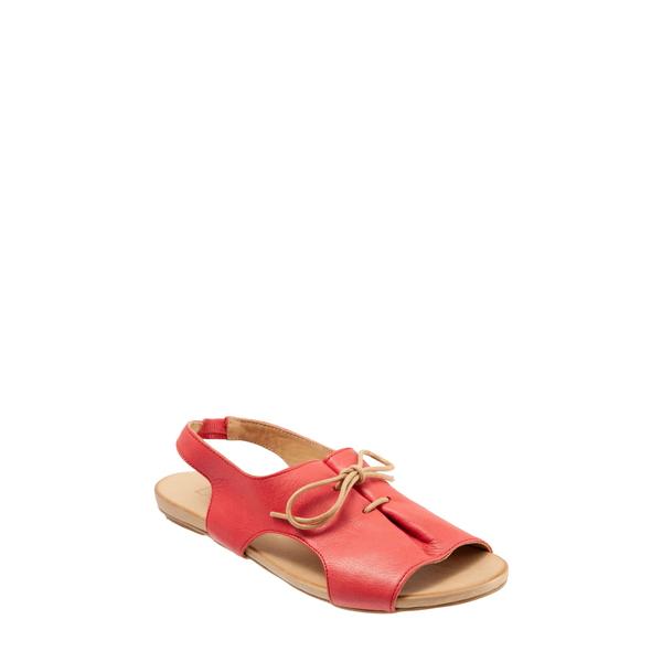 ブエノ レディース サンダル シューズ Kenya Sandal Red Leather
