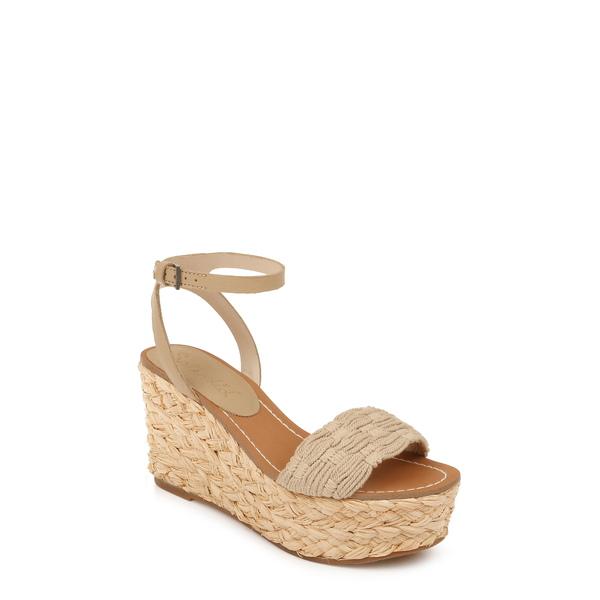 スプレンディット レディース サンダル シューズ Marlene Platform Wedge Sandal Latte Fabric