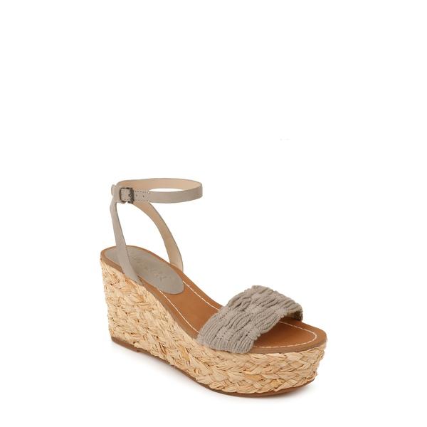 スプレンディット レディース サンダル シューズ Marlene Platform Wedge Sandal Dove Fabric