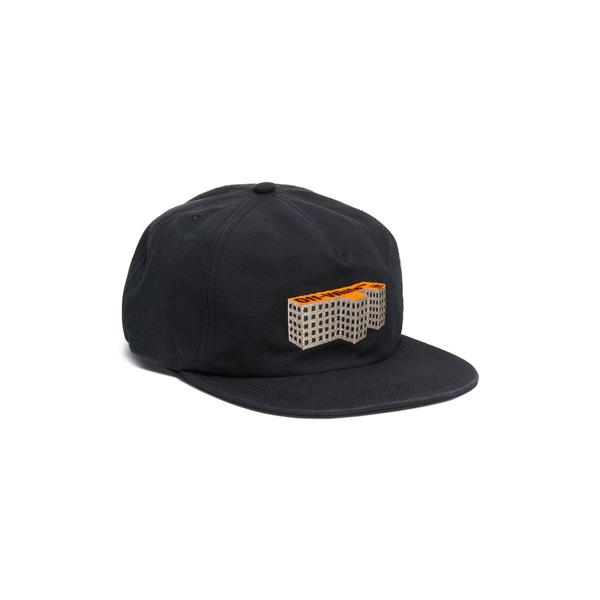 オフホワイト メンズ 帽子 アクセサリー Building Baseball Cap Black Multicolor