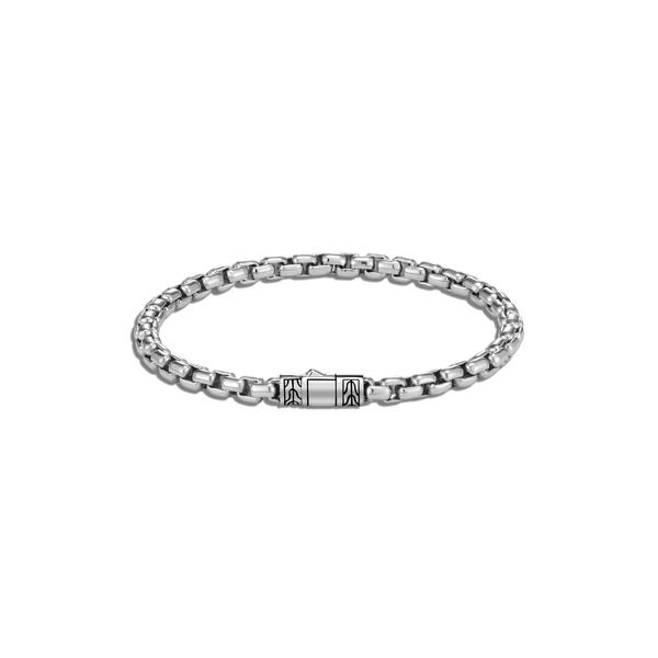 ジョン・ハーディー メンズ ブレスレット・バングル・アンクレット アクセサリー Men's Classic Chain Box Chain Bracelet Silver