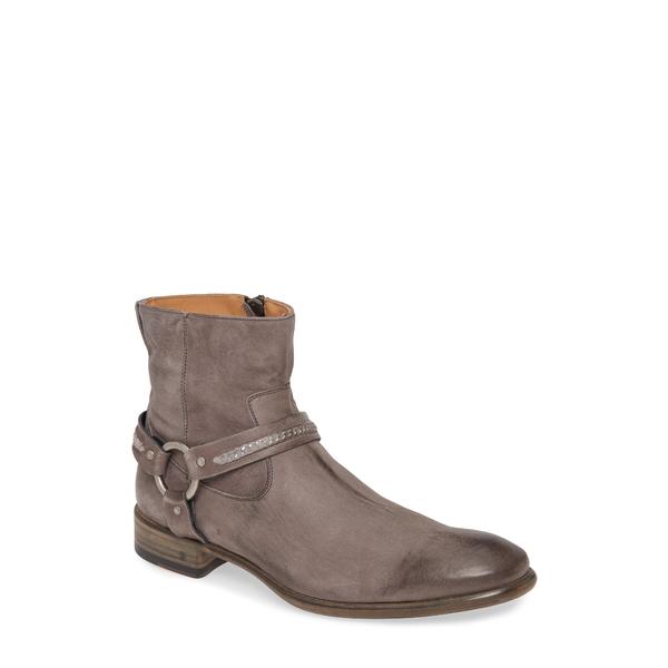 ジョンバルベイトス メンズ ブーツ&レインブーツ シューズ Eldridge Harness Boot Lead