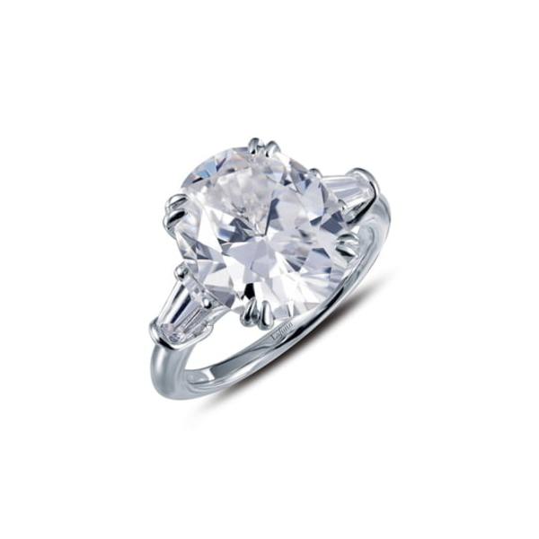 ラフォン レディース リング アクセサリー Three Stone Ring Silver