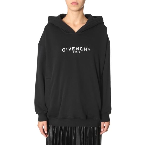 ジバンシー レディース パーカー・スウェットシャツ アウター Givenchy Hooded Sweatshirt NERO