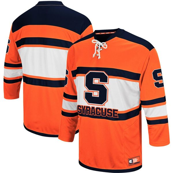 コロシアム メンズ パーカー・スウェットシャツ アウター Syracuse Orange Colosseum Big and Tall Open Net II Hockey Sweater Orange