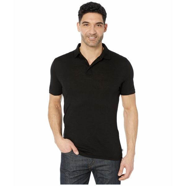 ヘリーハンセン メンズ シャツ トップス Merino Light Short Sleeve Polo Black