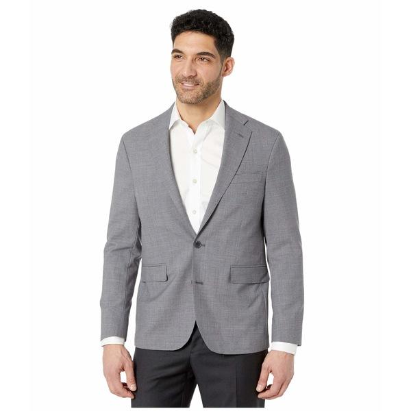 コールハーン メンズ コート アウター Slim Fit Suit Separate Coat Light Grey