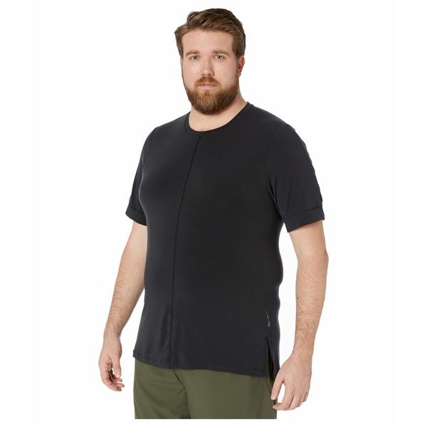 ナイキ メンズ シャツ トップス Big & Tall Dry Top Short Sleeve Act Rec Black/Black