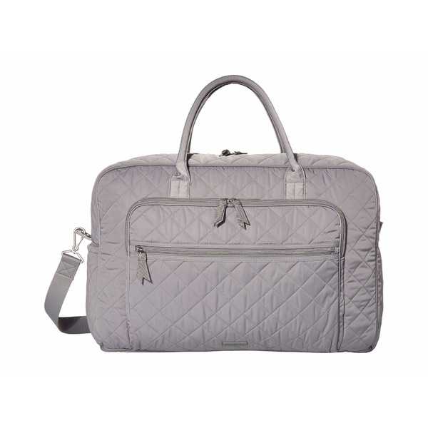ベラブラッドリー レディース ボストンバッグ バッグ Iconic Performance Twill Grand Weekend Travel Bag Tranquil Gray